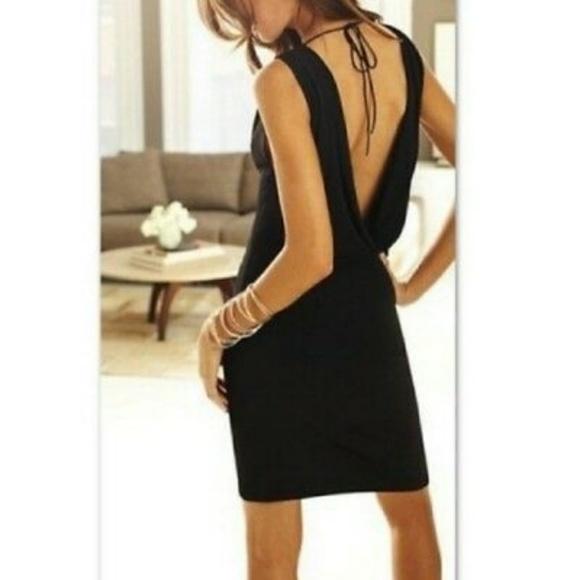 Victoria's Secret Dresses & Skirts - Victoria's Secret Black Cowl Back Dress